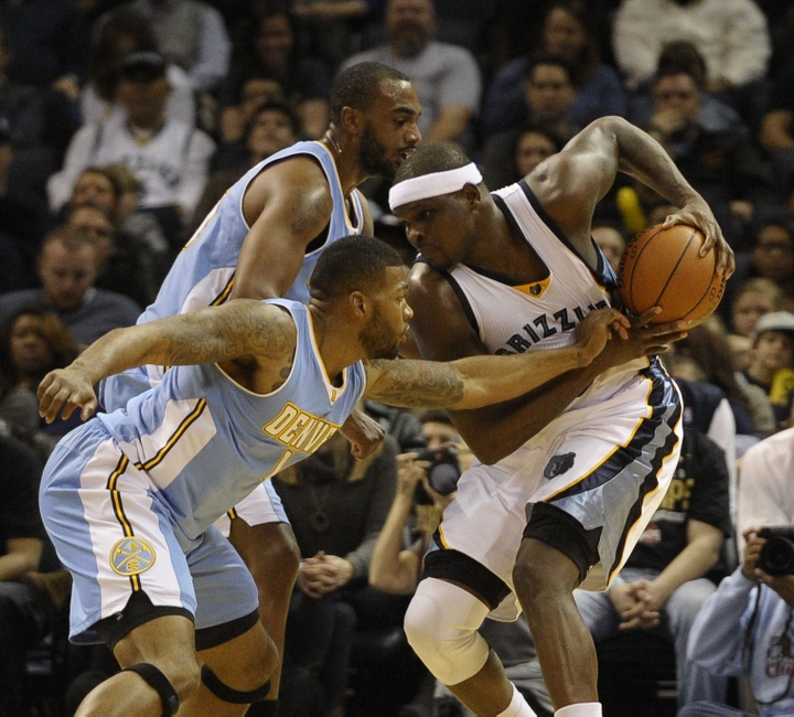 Memphis Grizzlies Lose Carter, Demolish Denver 99-69