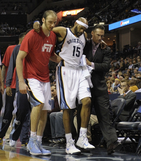 Memphis Grizzlies' Injury Updates