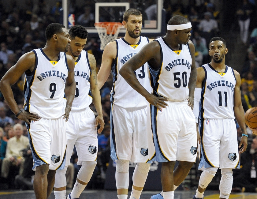 Memphis Grizzlies Current Depth Chart At All Positions