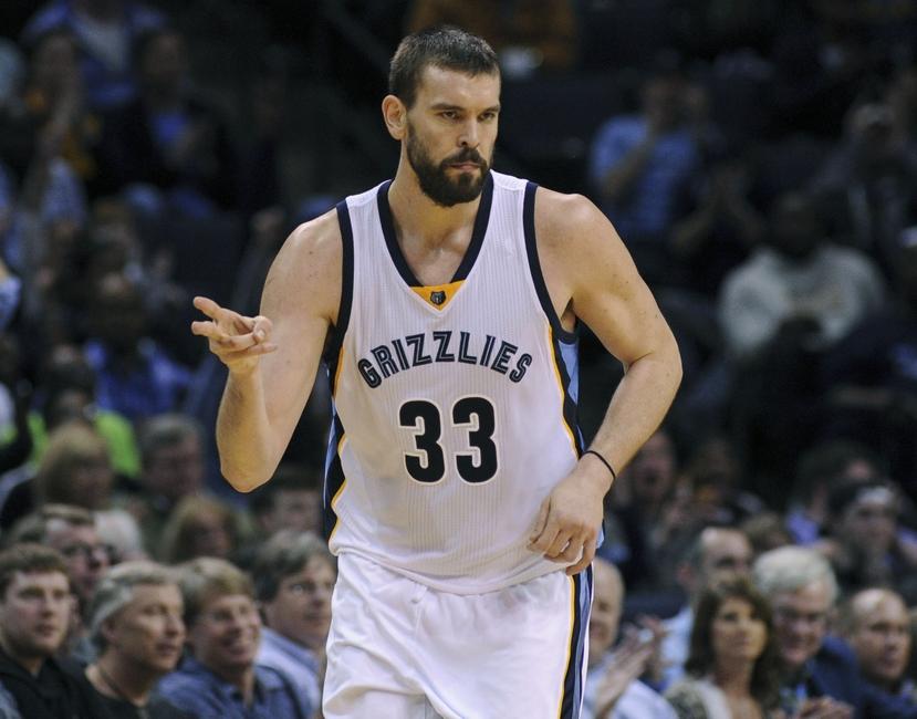 Marc Gasol: Memphis Grizzlies 2016 player preview